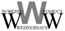 Working Women's Wednesday logo, a local networking event hosted by the Women's Resource Center of Alamance County, NC.